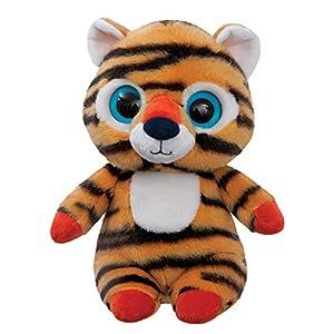 Aurora World 61293 Han The Siberian Tiger - Peluche de Tigre, Color Naranja y Negro