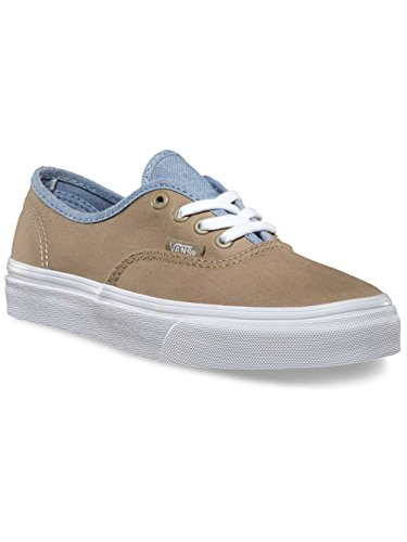 Vans T Authentic, Baskets mode mixte bébé Kaki