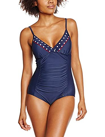 ESPRIT Bodywear Damen Einteiler 996EF1A992, Blau (Navy 400), 44