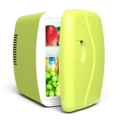 Sunjun 4L Silent Mini Kühlschrank Kühler und Wärmer, Auto und Heimgebrauch ( Farbe : Grün )