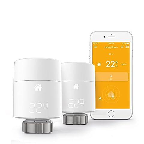 Tado Smart Thermostat de radiateur kit de démarrage, blanc,