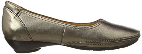 Gabor  Change - Ballerines femme Argent (Silver Metallic Leather)