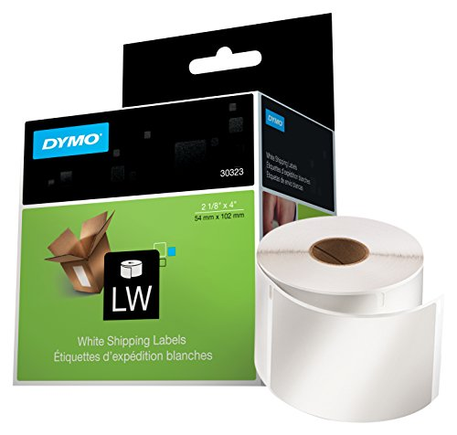 dymo-lw-standard-shipping-labels-for-labelwriter-label-printers-white-2-1-8-x-4-1-roll-of-220-30323