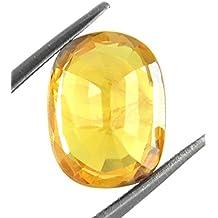 Parkash Bhagya Ratan Pukhraj/Yellow Sapphire IGITL Lab Certified 0.771 GMS, 4.25 Ratti Pukhraj Natural Loose Gemstone