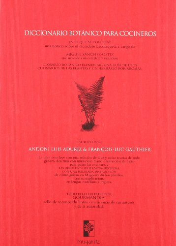 Portada del libro Diccionario Botanico Para Cocineros (+dvd) (Libros Del Atajo)