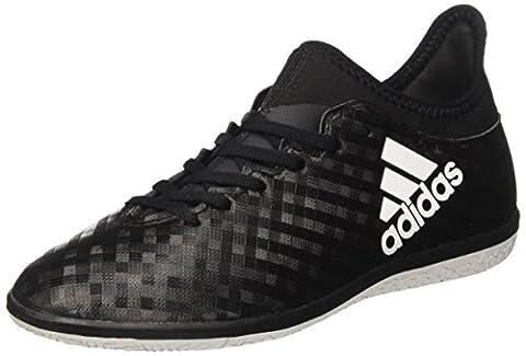 adidas Unisex-Kinder X 16.3 in Fußballschuhe, Schwarz (Core Black/Ftwr White/Core Black), 38 EU
