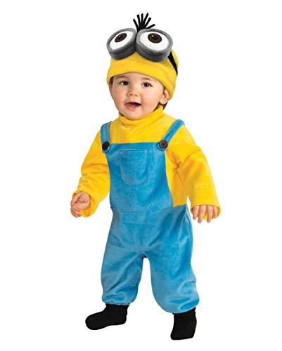 Horror-Shop Minion Kleinkinderkostüm Kevin für Kinderfasching, Karneval & Kostümparties ()