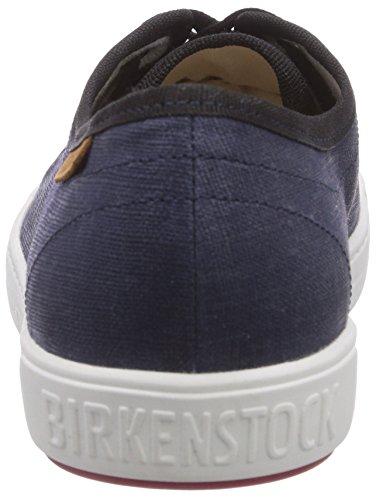 Birkenstock Shoes Arran Damen, Chaussons Sneaker Femme Bleu (marino Ls White-red)
