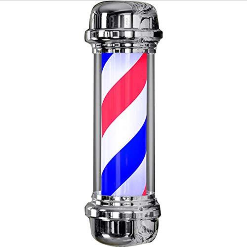 JUN GUANG Friseursalon Shop Beauty Sign Illuminating Blinker Zylindrische Anzeige Bunte Lichter Friseur LED-Lichter -