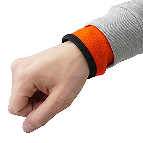 Preisvergleich Produktbild Oramics Multifunktions-Armband mit Reissverschluss Geldbeutel Schlüssel Tasche - ideal für Sport - Joggen - Wintersport - Radsport etc (Rot, L)