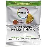 Rainbow Light Men's Energy Gummy Multivitamin 30 Count by Rainbow Light