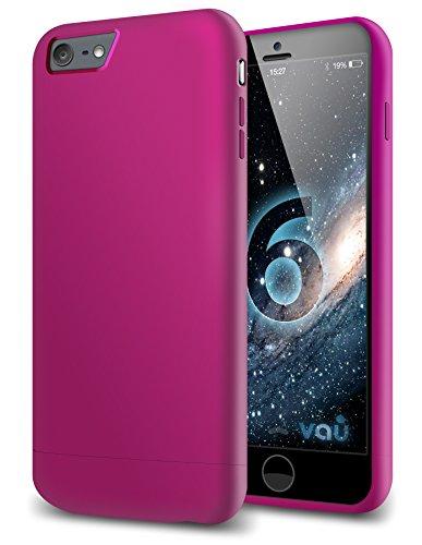vau Snap Case Slider matt Purple - zweigeteiltes Hard-Case kompatibel zu Apple iPhone 6 (Hülle lila hart mit Innenfutter) Apple Iphone Snap Lila