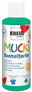 Mucki 24112-Pintura acrílica (80ML), Color Verde