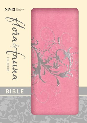 Holy Bible: New International Version Orchid Silver Swirls Italian Duo-Tone (Flora & Fauna Collection Bible) Flora Swirl