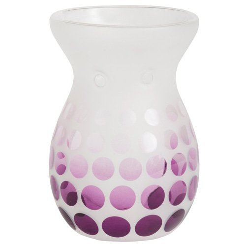 YANKEE CANDLE 1331878 Duftlampe, Glas, violett, 11,7 x 11,3 x 16,2 cm