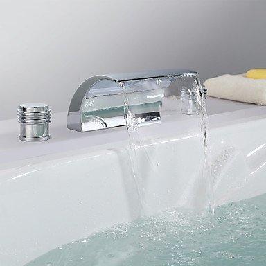 GAOLI Waschtischarmaturen Zeitgenössische Wasserfall aus rostfreiem Chromstahl