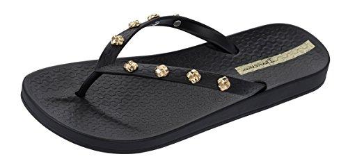 Ipanema Premium Love Knot Frauen Flip-Flops/Sandalen-Black-38 - Flip-flop-premium Collection