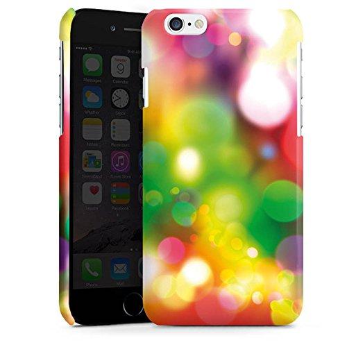 Apple iPhone 4 Housse Étui Silicone Coque Protection Lumières Points Motif Cas Premium brillant