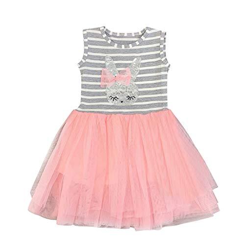 Baby T-Shirt Strap Kleid Weihnachten Outfits 2 Teile/Satz Kleinkind Mädchen Langarm Rüschen Top Overall Plaid Rock Kleidung Set (3-4 Jahre) - Plaid Trenchcoat