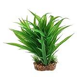 non-brand MagiDeal Terrarium Künstliche Pflanze Kunstpflanze Kunststoffpflanze für Reptilien und Amphibien - Typ 1