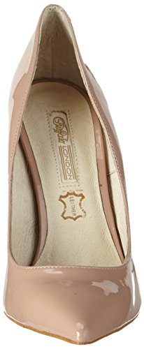 Buffalo London 11335x-269 Patent Pu Damen Pumps Beige (NUDE 01)