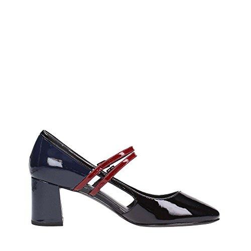 What For , Chaussures de sport d'extérieur pour femme Noir noir/rouge 36 Noir
