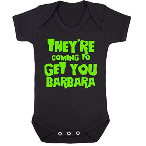 Cloud City 7 Night of The Living Dead Barbara Quote Baby Grow Short ()