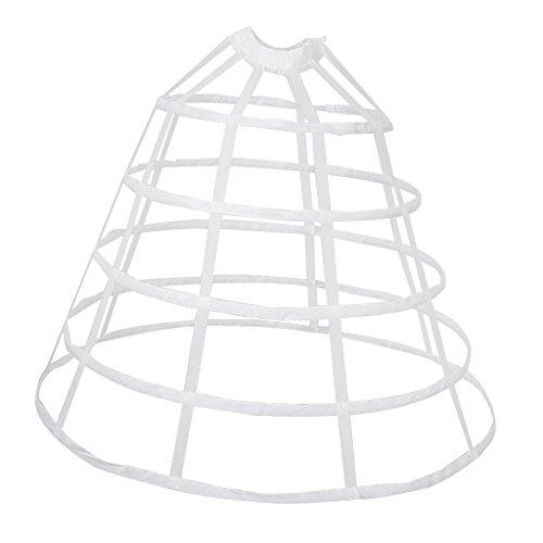 MagiDeal A-line Reifrock Petticoat Brautkleid Unterrock Unterskirt Krinoline für Hochzeitskleider...