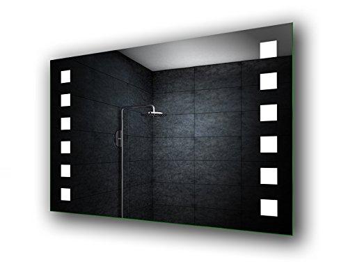 Design Badspiegel mit LED Beleuchtung Wandspiegel Badezimmerspiegel nach Maß - 2