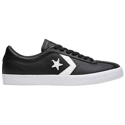Converse Mens Breakpoint Ox Leather Trainers Black