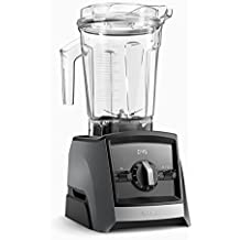 Vitamix – Ascent 2300 – Color Gris silver con temporizador digital y función Pulse. (