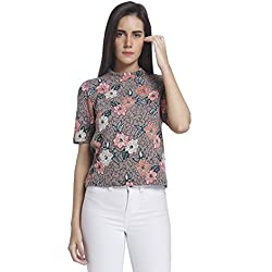 Vero Moda Women's Body Blouse Top (10162281_Bridal Rose_L)