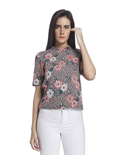 Vero Moda Women's Body Blouse Top (10162281_Bridal Rose_S)