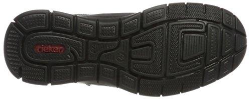 Rieker Herren B4819 Hohe Sneaker Grau (Graphit/Rauch/Granit)