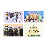 dyudyrujdtry Stable Kpop BTS Fotokarten J-Hope Jimin SUGA gedruckt Transparent Geschenk Schöne...