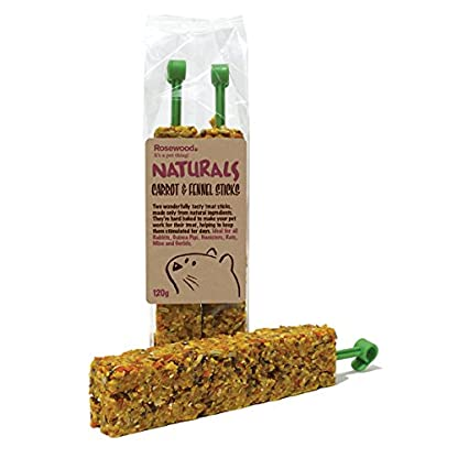 Rosewood Naturals Carrot and Fennel Sticks Treat 120 g 1