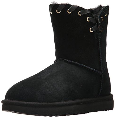 UGG Australia Damen W Aidah Schneestiefel, Black (Black Blk), 43 - Schwarz Classic Ugg Boots Short