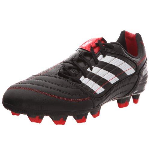Adidas X Absolado_x Fg, Unisex-Erwachsene Fußballschuhe Schwarz (noir/blanc Prédator/rouge Prédator)
