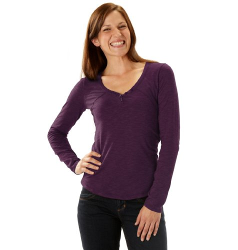 Horny Toad Damen Rookie Long Sleeve Top Potent Purple