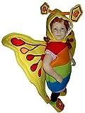 F80 Tamaño 1-2 años (86-92cm) de la mariposa del traje para los niños y bebés, cómodamente usa sobre la ropa normal