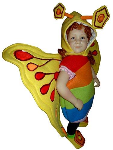 (Schmetterlings-Kostüm, F80 Gr. 86-92, Schmetterling für Klein-Kinder, Babies, Schmetterlinge Kinder-Kostüme Fasching Karneval, Kinder-Karnevalskostüme, Faschingskostüme, Geburtstags-Geschenk)