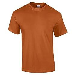 Gildan Men's Ultra Cotton Short Sleeve T Shirt from Fashion
