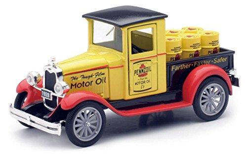 1928-chevy-pickup-newray-ss-55003a-pennzoil-132-die-cast