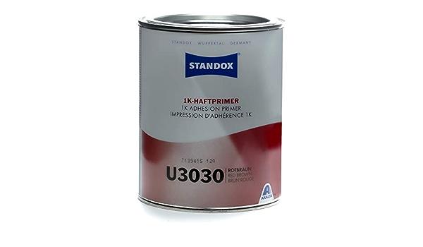 Standox 1k Haftprimer U3030 Rostschutz Grundierung Rotbraun 1 Liter 02086212 Auto