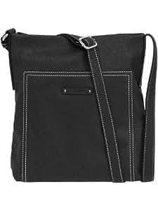 ESPRIT Messenger Bag, Esprit Tasche, black  Schwarz (Black 001), 073EA1O011