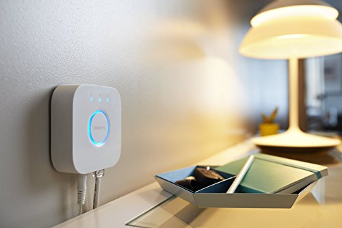 41ZAMsydz0L [Bon Plan Amazon] Philips Kit de démarrage 2 ampoules Hue White E27 + pont de connexion Hue