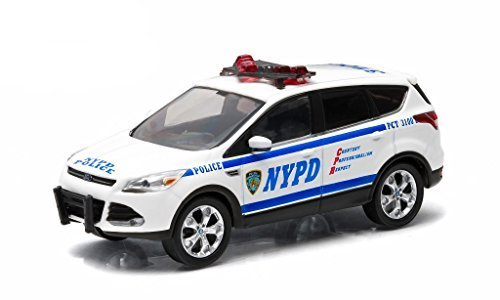 2014-ford-escape-new-york-police-department-nypd-car-in-display-showcase-1-43-by-greenlight-86070-by