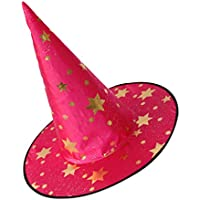 Baosity Cappello Stregone per Bambini Cappello Strega per Bambini per Il  Giorno di Halloween -   453e46707601