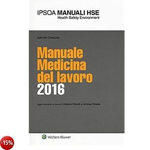 Manuale medicina del lavoro 2016