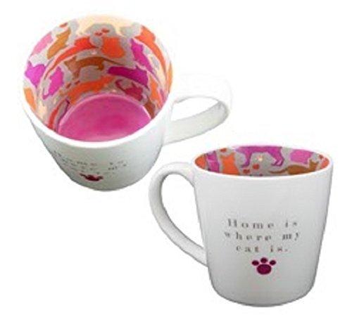 Mug en céramique tasse à thé/café ~ ~ ~ Home is where My Cat Is...